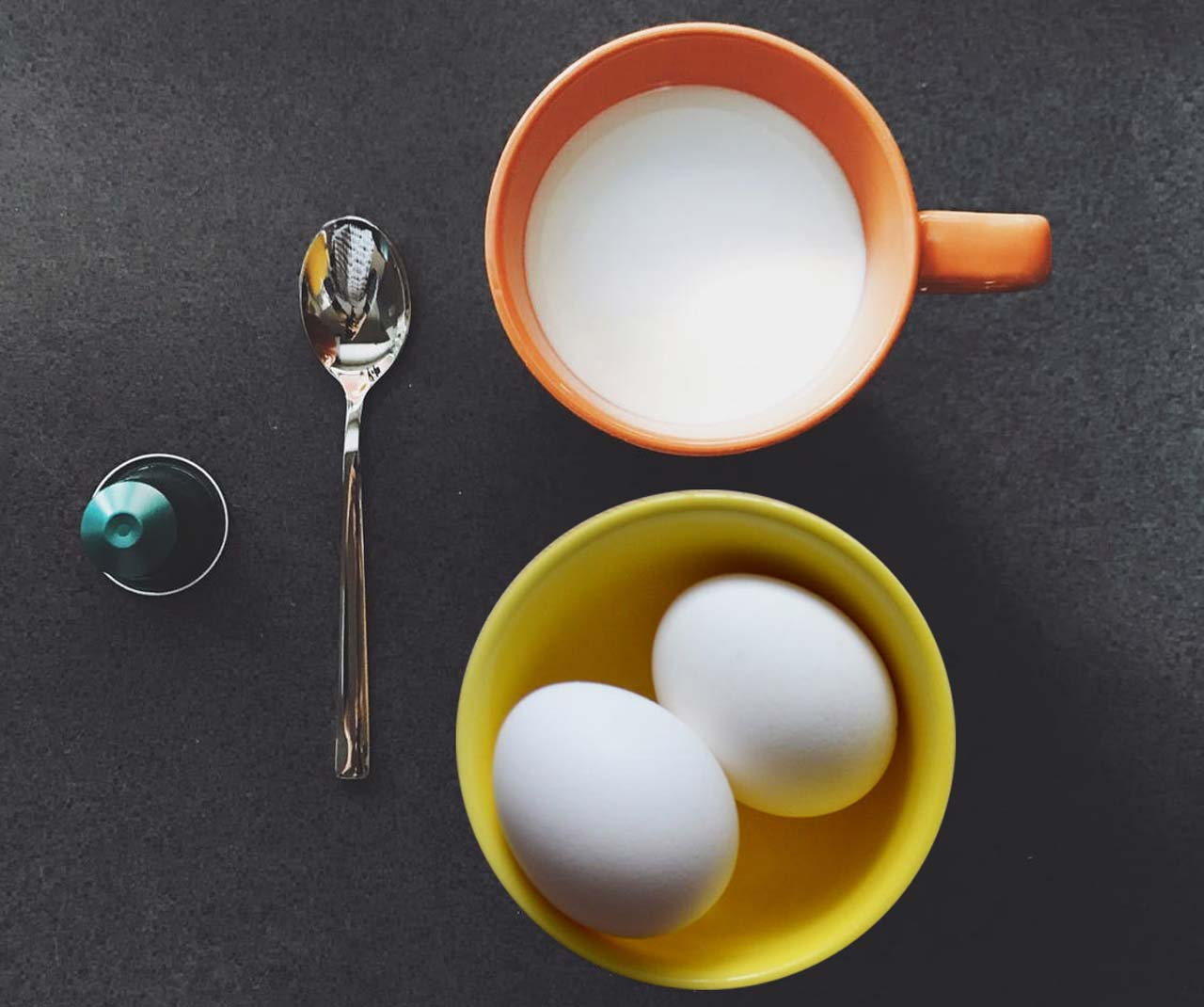 Egg and milk