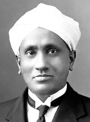 CV Raman - Indian Nobel prize winner
