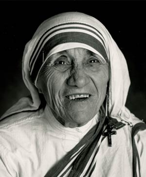 Mother Teresa - Indian Nobel prize winner