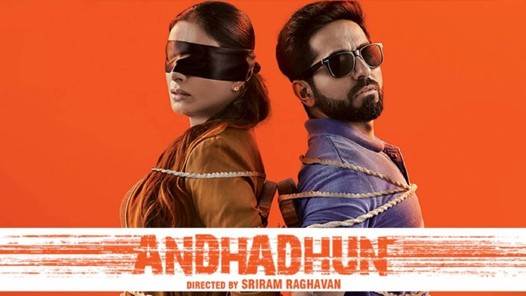 Andhadhun - Bollywood psychological thrillers