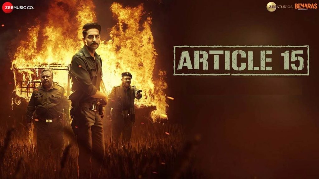 Article 15 movie