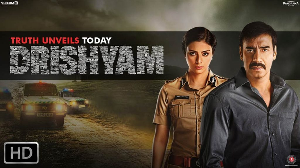 Drishyam - Bollywood psychological thrillers