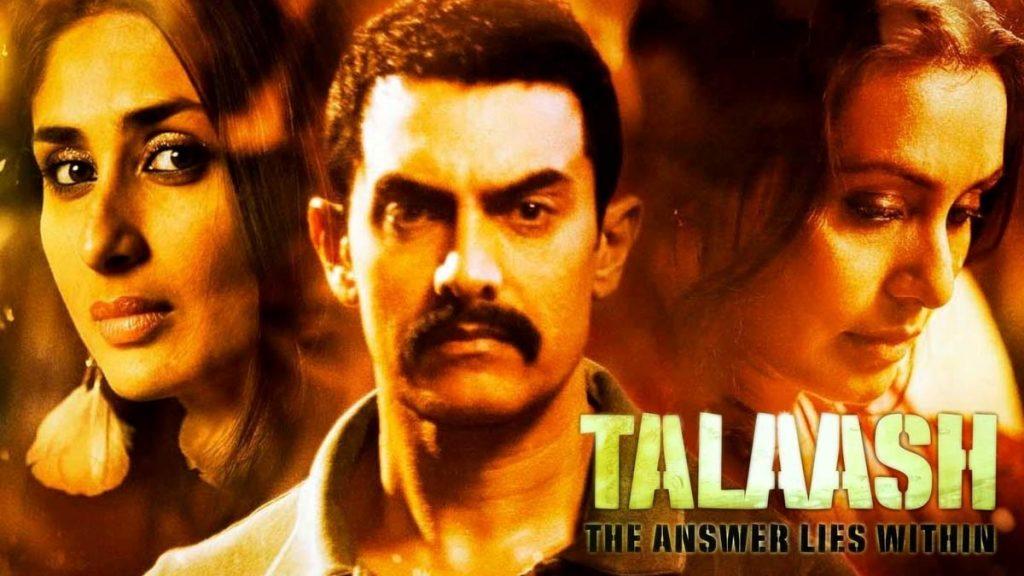 Talaash - Bollywood psychological thrillers